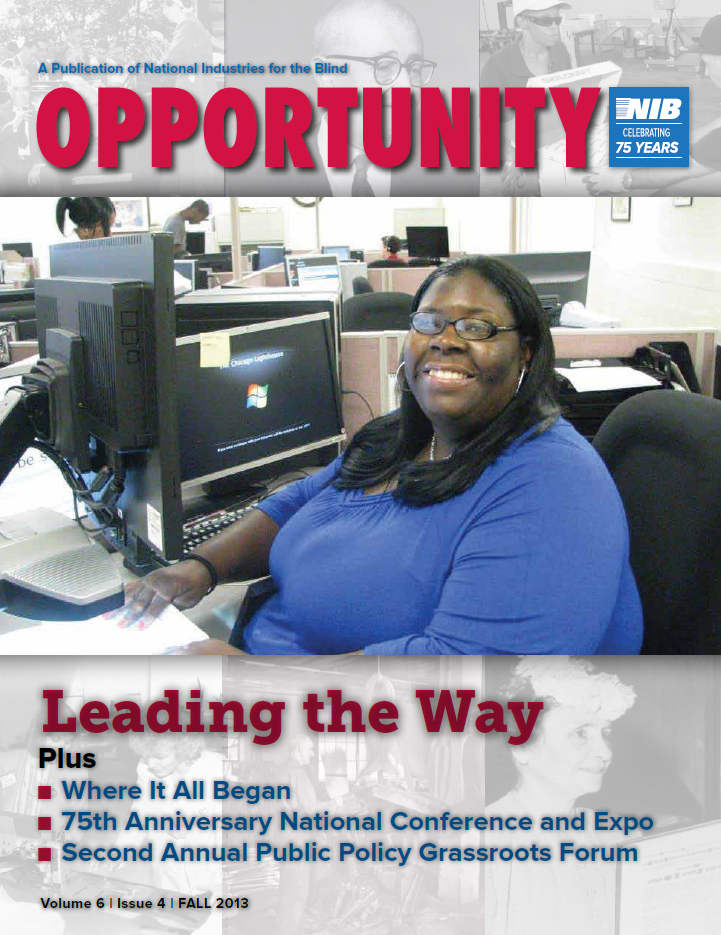2013 Fall Opportunity Magazine Cover Image