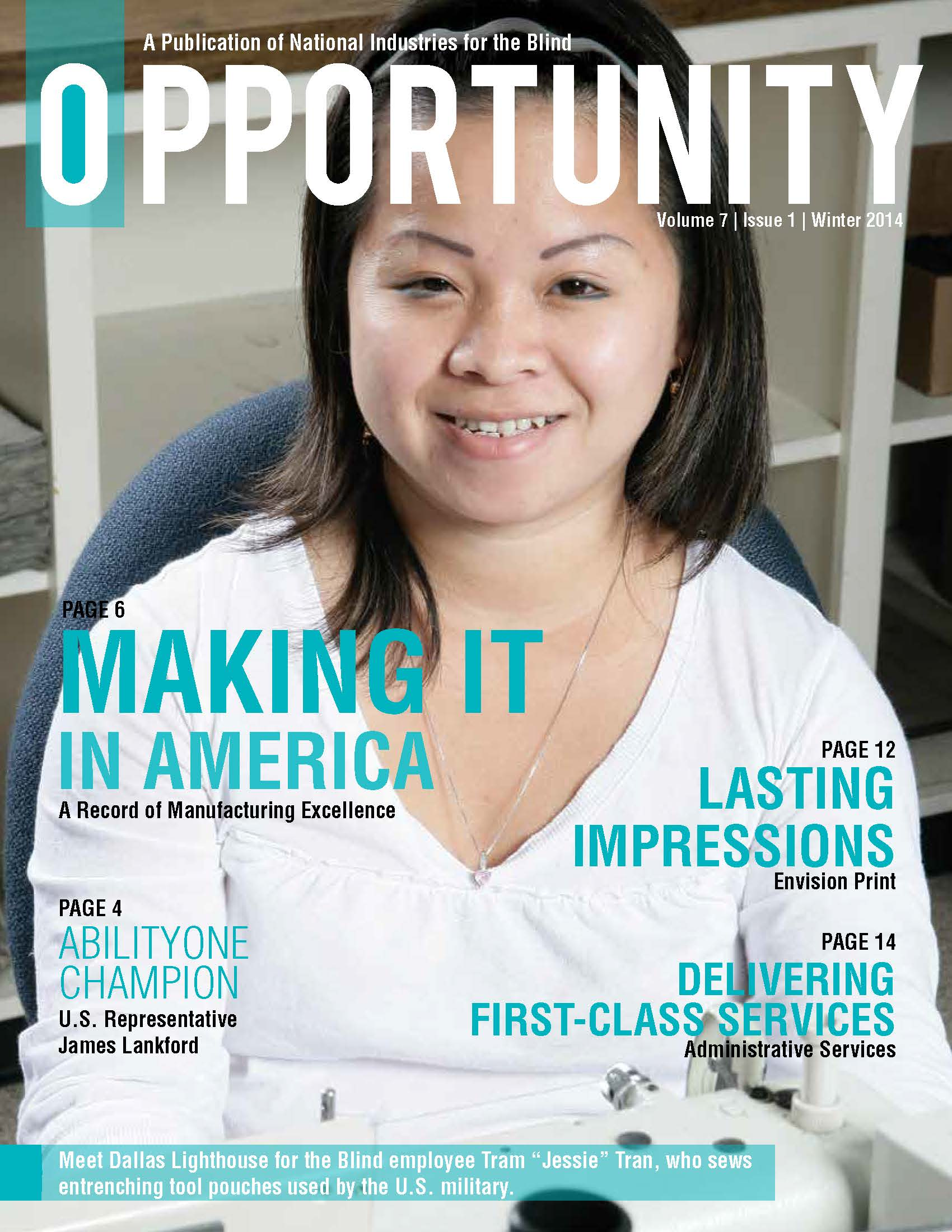 Winter 2014 Opportunity Cover