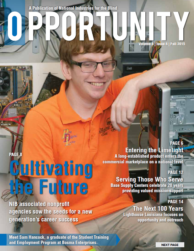 Fall 2015 Opportunity Magazine Cover